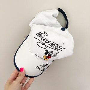 Disney World Parks Mickey Mouse White Hat